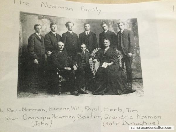 Newman Family Portrait