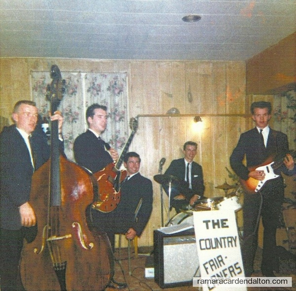 The Country Fair Laners---Tom Holmes- Norm Cameron- Jerry Burnie -Kevin Mangan -Basil Mangan