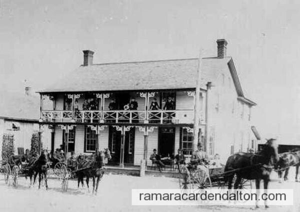 Atherley Hotel, c. 1875