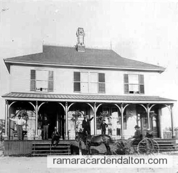 Charlie Myers Store, Atherley, c1880