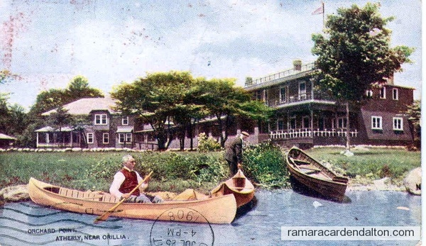 Orchard Point, Atherley, 1908