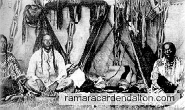 Sketch of Natives of Rama Township