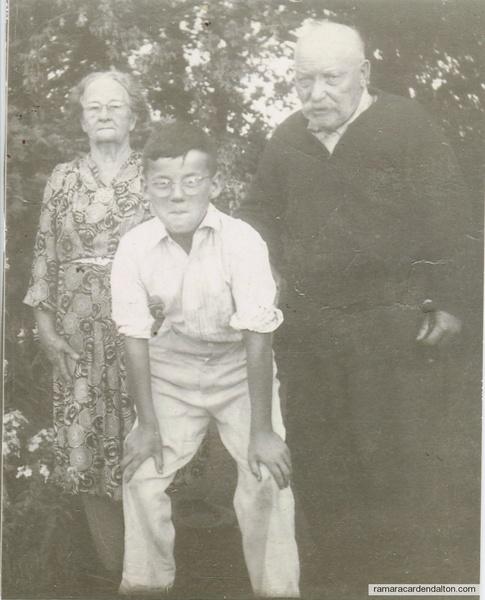 Denis Cronin -- MaryAnn Finn Cronin --David Cronin--(grandson)