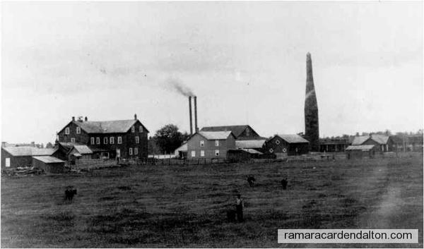 Longford Lum. Co. Mill, boarding house, c. 1890