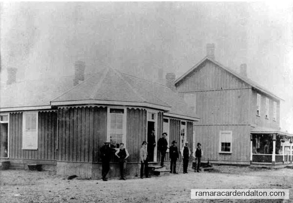 Longford Lum. Co. Office & Halls residence, c. 1890