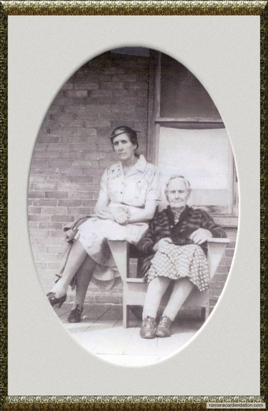 Rose Ann Thompson and Ethel Marie