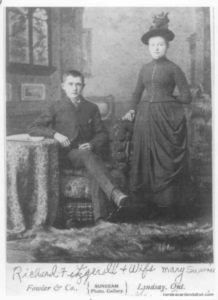 Richard Fitzgeral  Mary Sweeney