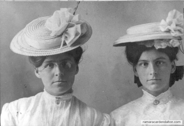 Margaret and Roseann Whalen 1908