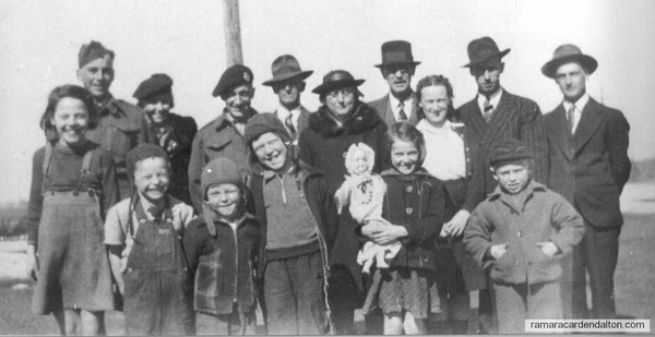 Clutcheys and Donnellys c1943