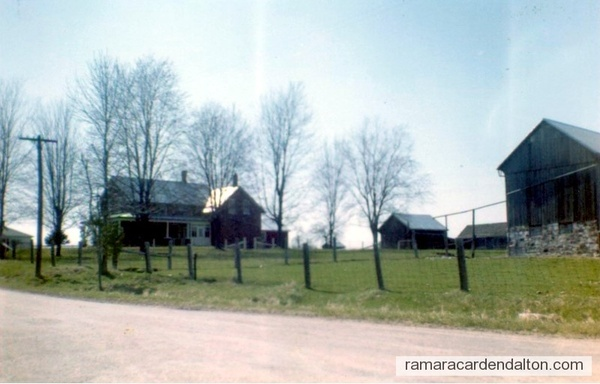 John & Catherine Healy Homestead, located on the Monck Rd