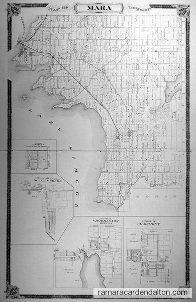 Mara Township Map
