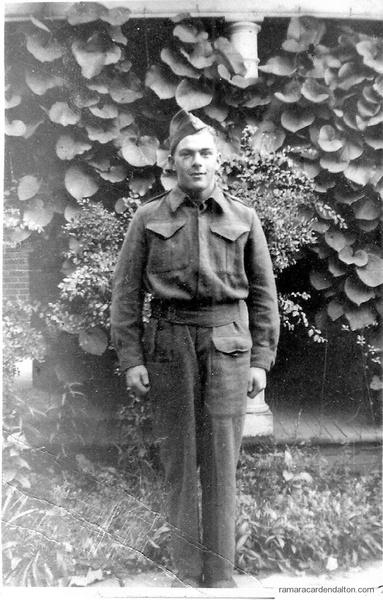 "Rifleman Joseph ""Joe"" Michael Whalen,  Died POW Hong Kong"