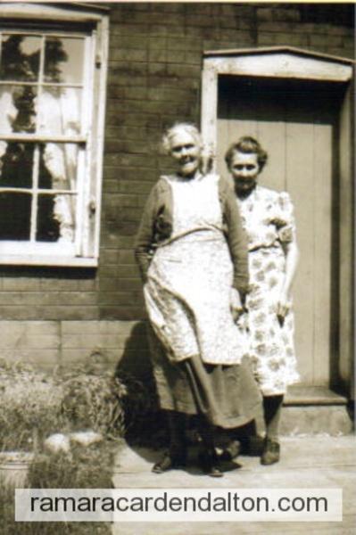 Mary (Corrigan )Crosby & Catherine (Crosby) Kelly