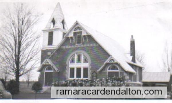 Brechin United Church 1945