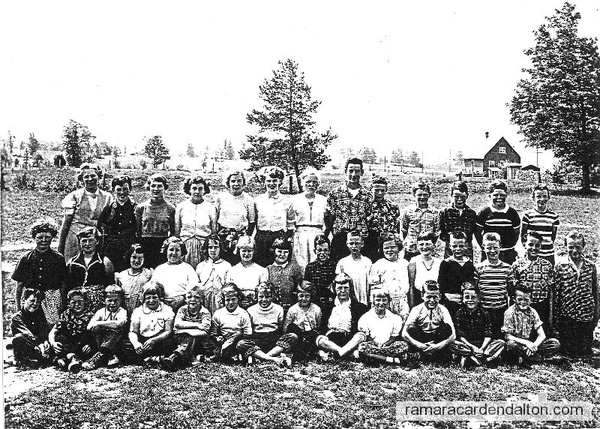 S. S. # 9 ,Udney,  Class of 1955