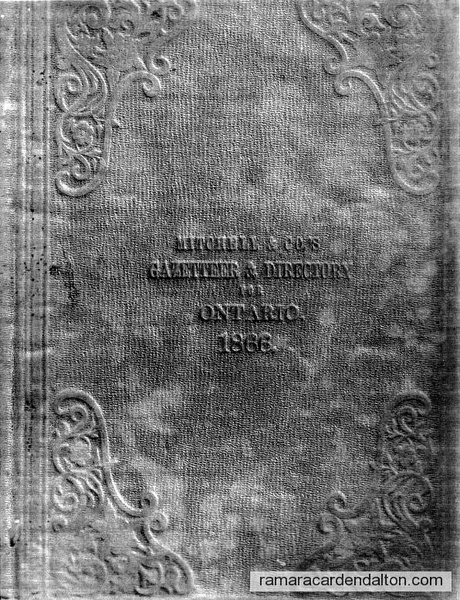View the album 'Mara-Rama Directory--1866'