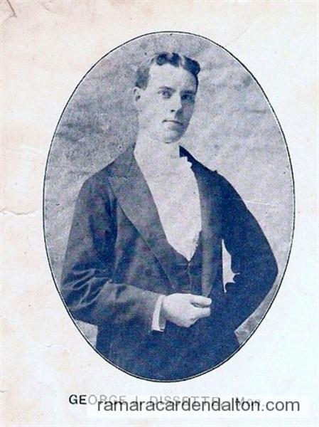 George Joseph Dissette son of Thomas