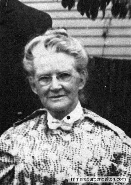 Margaret Heslip Dissette wife of Thomas