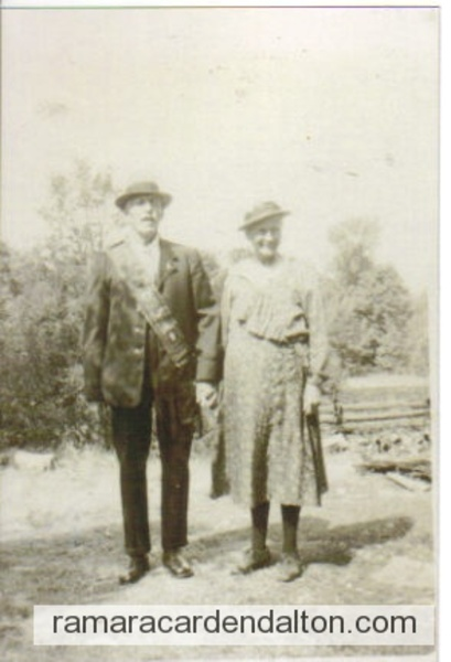 Jonathan Cleavely And Euphemia Woonch