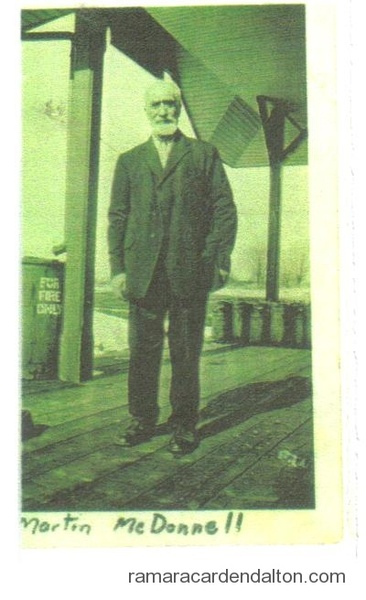 Martin McDonnell 1847-1929