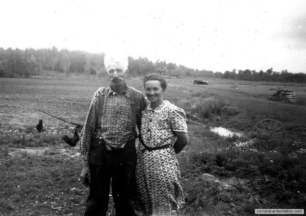 Thomas Ezra Cleaveley & his wife Lillian (Ainsworth)