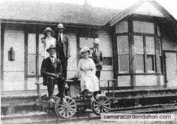 Rathburn Train Station