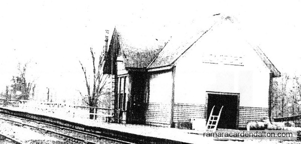 Longford Mills Railway Station, ca 1911