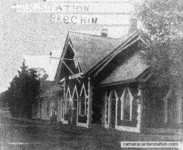 G.T.R. Station, Brechin