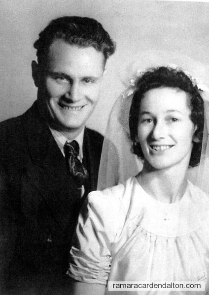 Jack & Velma Mulvihill-Wedding Day-Jan 4, 1940