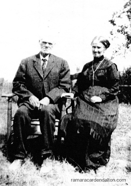 Thomas Joseph Mulvihill & his wife Elizabeth Anne Brady