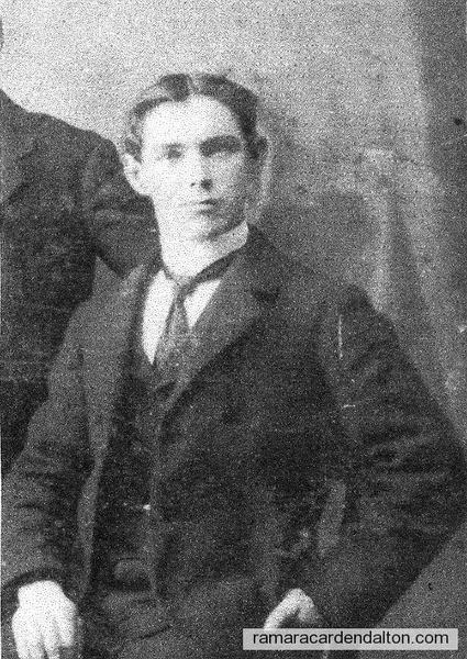 Thomas Mulvihill, son of Thomas & Elizabeth Mulvihill