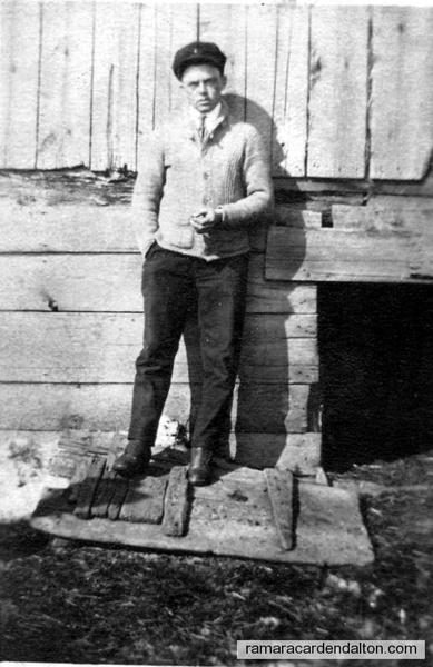 Bill Ferguson (son of Sarah & Bob Ferguson)