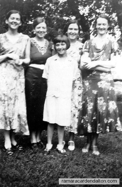 Ella, Gladys, Madonna, Annie, Patricia Doherty