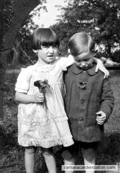 Patricia Doherty & Alec Lee (age 4 yrs)
