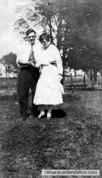 Dan Ferguson & Mary Lee (nee Doherty)