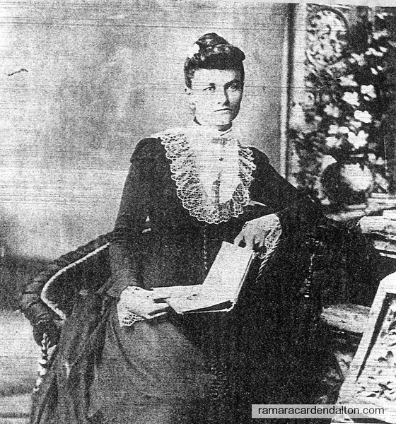 Sarah McMillan, wife of John Andrew Lee