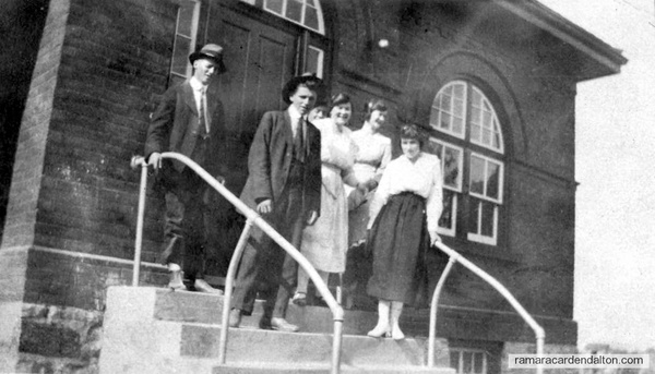 In Front of Uptergrove School