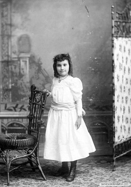 Nettie Johnston, 1893