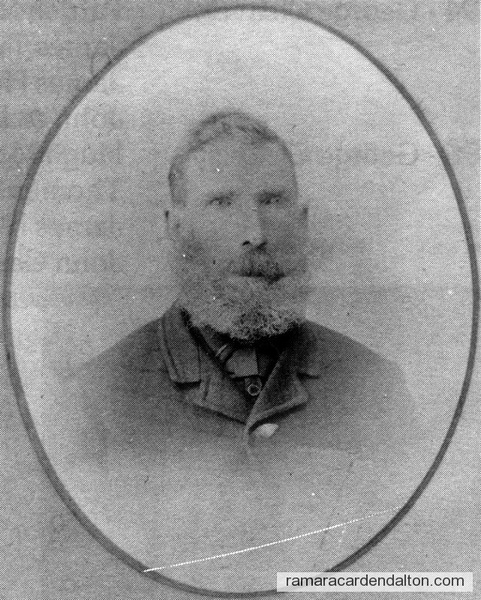 George Cleavely-1893 Councillor-Rama Township