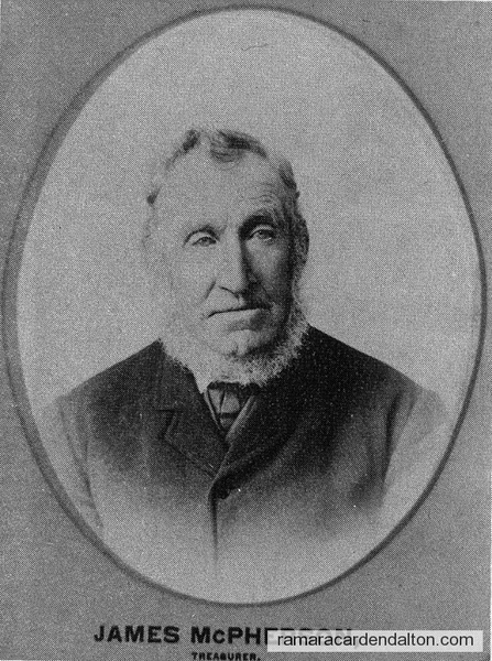 James McPherson-Treasurer-Rama Township