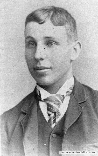 John G. Johnston-1921-1923 Reeve-Rama Township