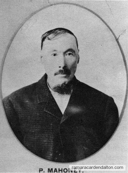 Patrick Mahoney-1893 Councillor-Rama Township