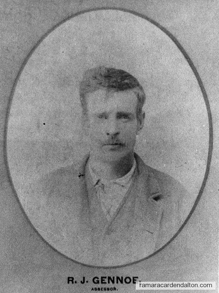 R. J. Genno-1893 Assessor-Rama Township