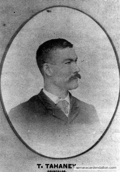 Thomas Tahaney-1893 Councillor-Rama Township