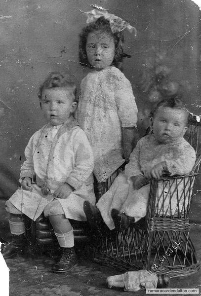 Gerrard, Kathleen & baby Basil Harrington 1920