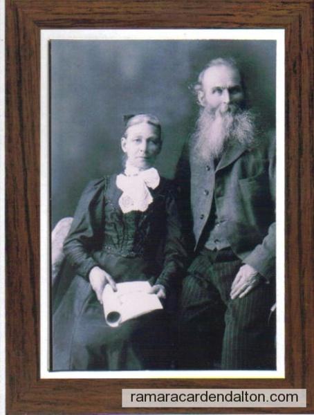Henry Joseph Furnis 1842--1908----Harriett Lucinda Weeks 1841-1910