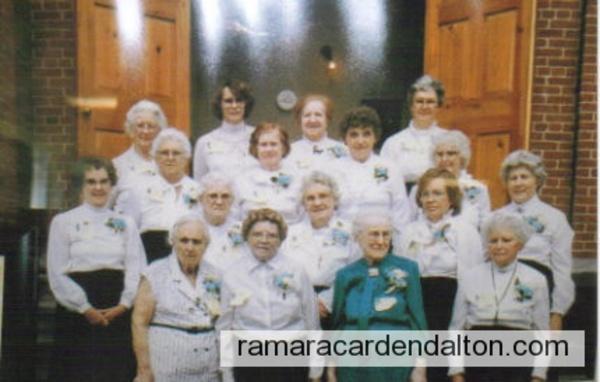 Gamebridge Womens Institute -75th Anniversary--1984