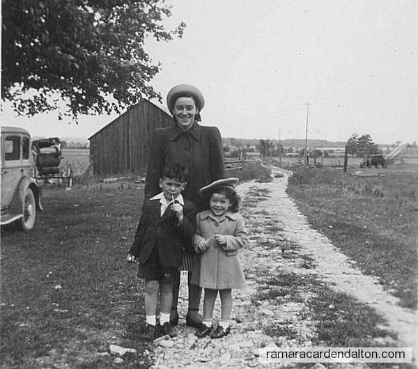 Dorothy, Michael & Marilyn Harrington