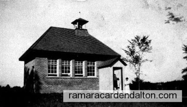 Sniderville School, Rama Twp