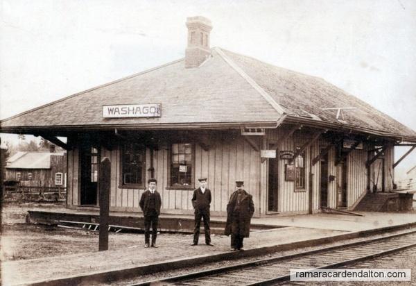 Washago Train Station